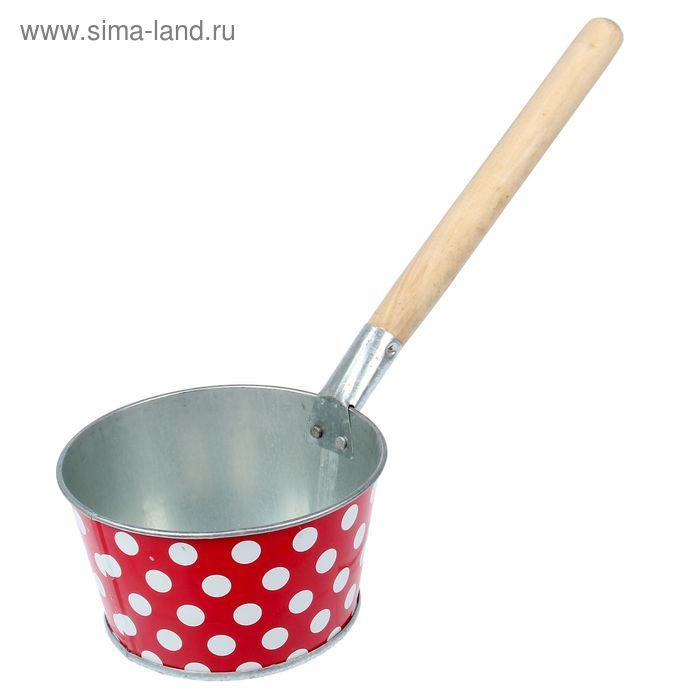 """Ковш банный 1,5 л """"Декоративный"""", цвет МИКС"""