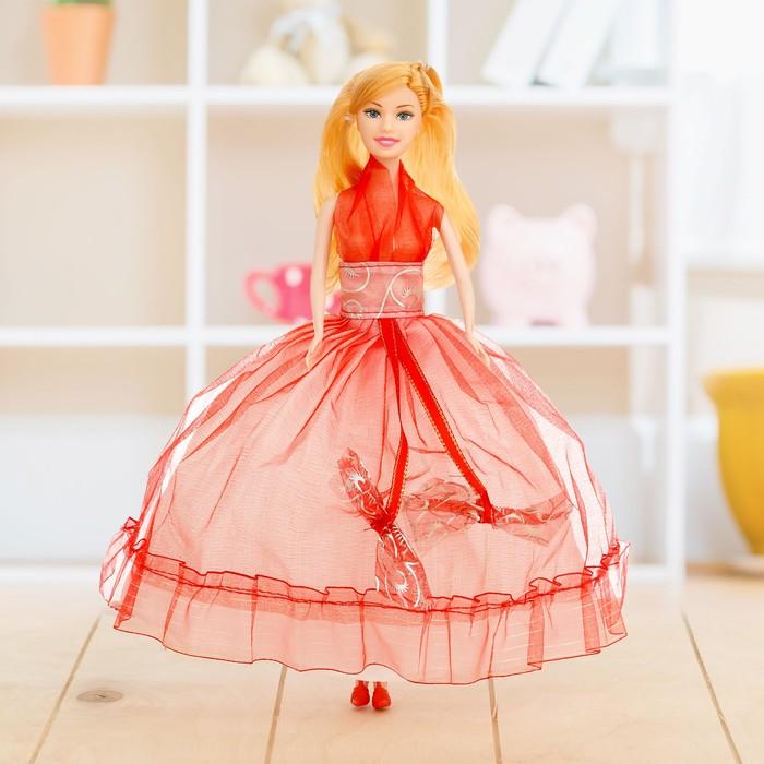 """Кукла модель """"Лерочка"""" в вечернем платье, МИКС"""