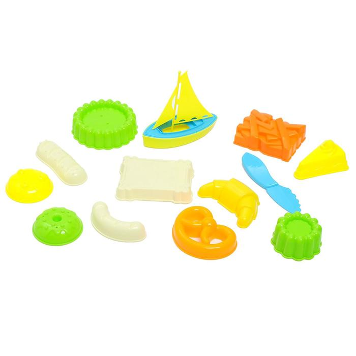 """Песочный набор """"Кондитерские изделия"""", 14 предметов"""