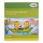 """Пластилин мягкий (восковой) 10 цветов 123 г """"Пчелка"""""""