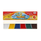 Акварель «Гамма МУЛЬТИКИ», 6 цветов, в картонной коробке, без кисти