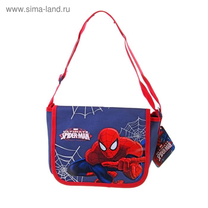 Сумочка детская для мальчика Disney Spiderman 18*25*10 см