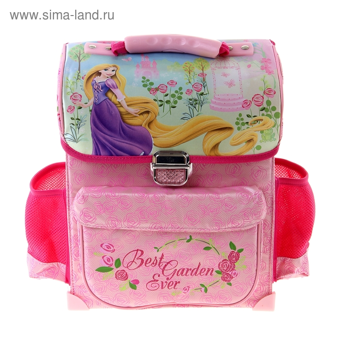 "Ранец на замке Disney ""Принцесса"" 34*27*12, для девочки"