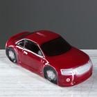 """Копилка """"Машина"""", глянец, цвет красный, 8 см"""