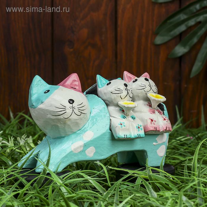 """Сувенир """"Кошка с котятами"""" цветная"""