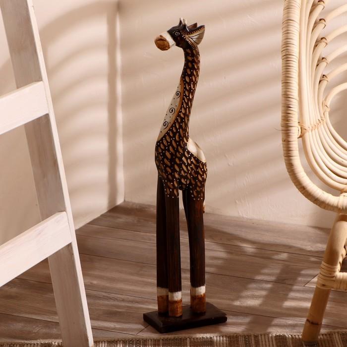 """Сувенир """"Жираф с завитками"""""""
