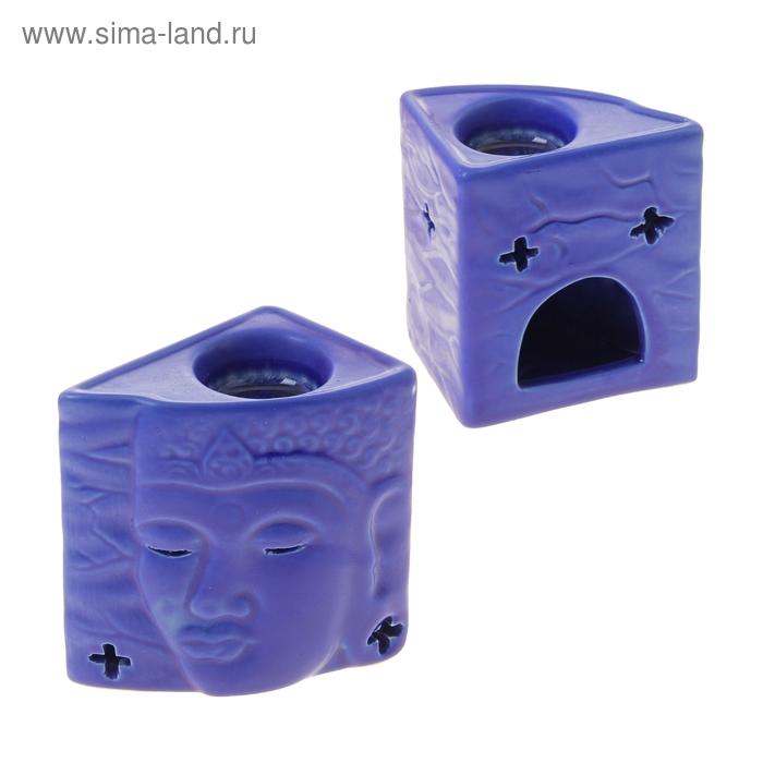 "Аромалампа ""Лик Будды"", синяя"