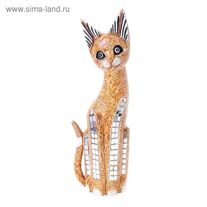 """Сувенир """"Котёнок с мозаикой на ножках"""""""
