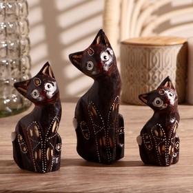 """Set cats souvenir """"majestic Cats"""", 3 PCs"""