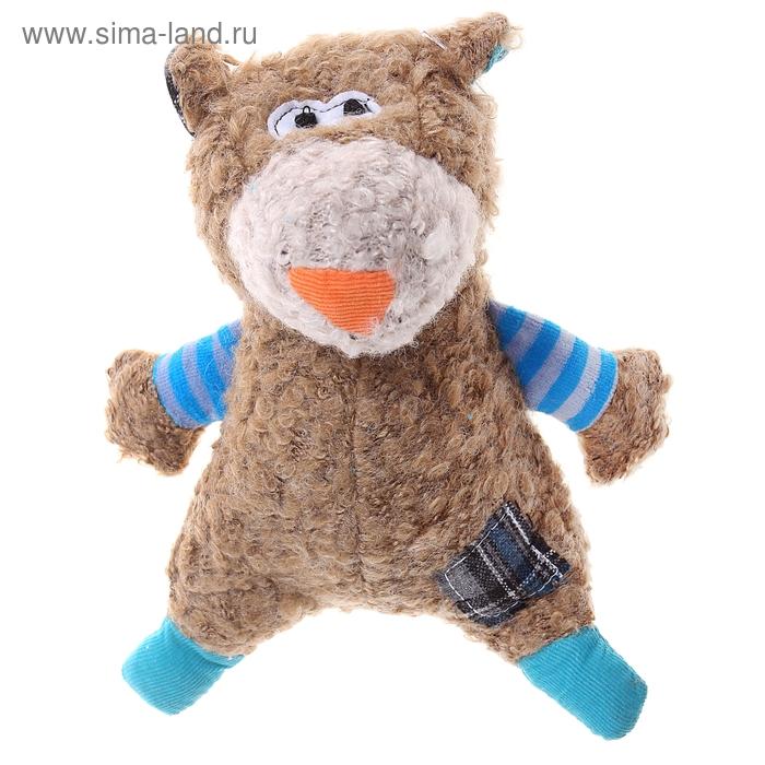 """Мягкая игрушка """"Медведь маленький"""" голубой"""