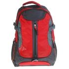 """Рюкзак туристический """"Турист"""", 1 отдел, 2 наружных и 2 боковых кармана, усиленная спинка, цвет чёрно-красный"""