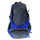 """Рюкзак туристический """"Классик"""", 14л, 1 отдел, 2 наружных и 2 боковых кармана, усиленная спинка, цвет серо-синий"""