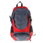 """Рюкзак туристический """"Классик"""", 1 отдел, 2 наружных и 2 боковых кармана, усиленная спинка, цвет серо-красный"""