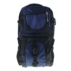 """Рюкзак туристический """"Турист"""", 34л, 1 отдел, 2 наружных и 2 боковых кармана, усиленная спинка, цвет сине-чёрный"""