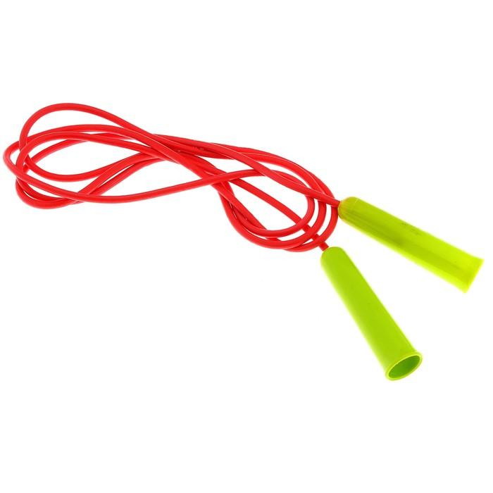 Скакалка спортивная 2,5 м, цвета МИКС - фото 19656788