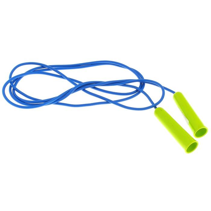 Скакалка спортивная 2,5 м, цвета МИКС - фото 19656789