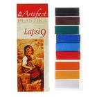Пластика - полимерная глина набор LAPSI 9 классических цветов 180г