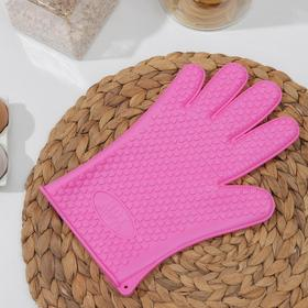 Glove for hot Heart MIX colors