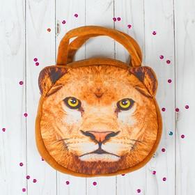 Мягкая сумочка «Лев»
