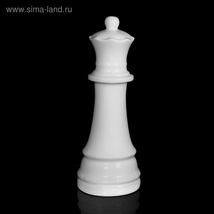 """Фигурка """"Ферзь"""", белая"""