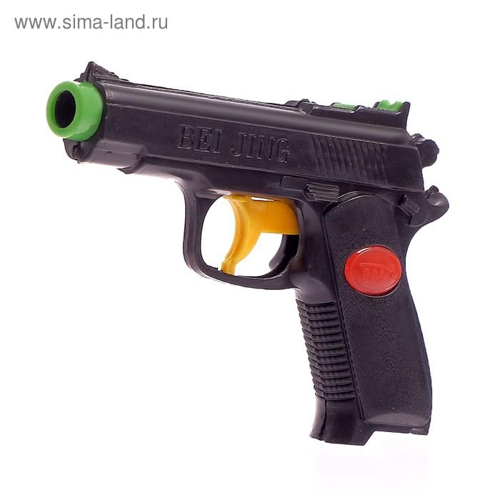 """Пистолет механический """"Спецназ"""", цвета МИКС"""