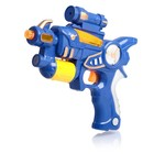 Пистолет «Бластер», свет и звук, цвета МИКС