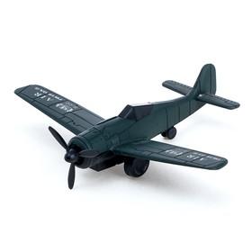 Самолёт инерционный 'Аэроплан', цвета МИКС Ош