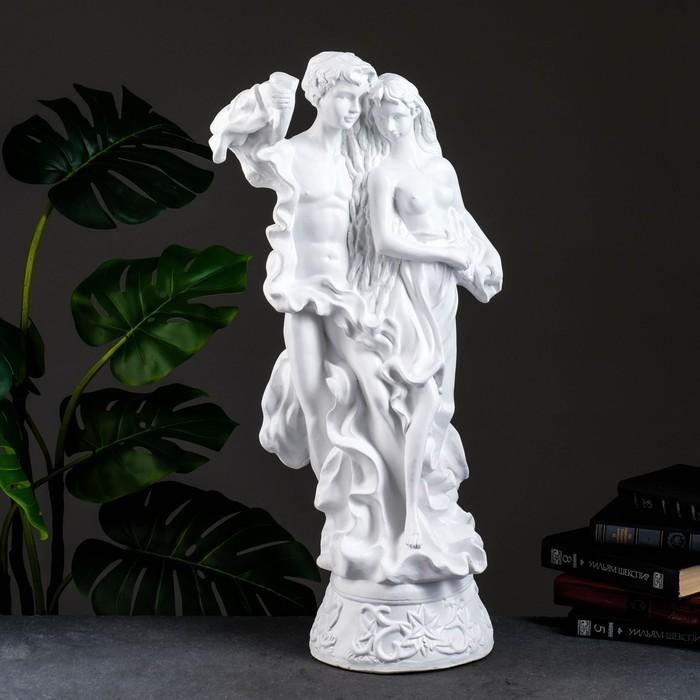 """Статуэтка """"Адам и Ева"""" большая белый"""