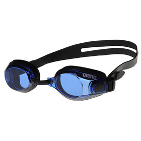 Swimming glasses ARENA Zoom X-Fit, blue lenses, black frame.