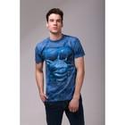 Футболка мужская Collorista 3D Hunt, размер XL (50), цвет синий
