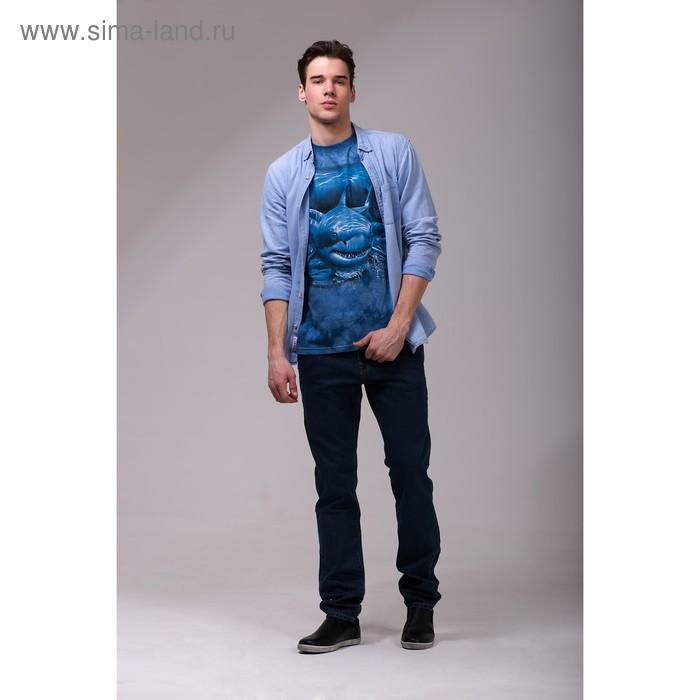 Футболка мужская Collorista 3D Hunt, размер XXL (52), цвет синий