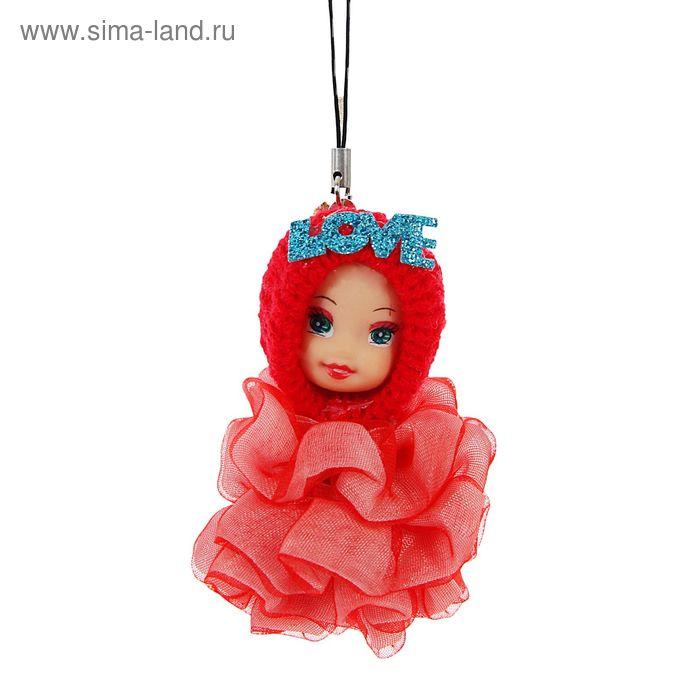 """Мягкая игрушка-подвеска """"Кукла Светлячок"""", светится при нажатии, цвета МИКС"""