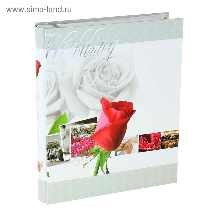 """Фотоальбом магнитный на 20 листов """"Свежая роза"""" в коробке, микс"""