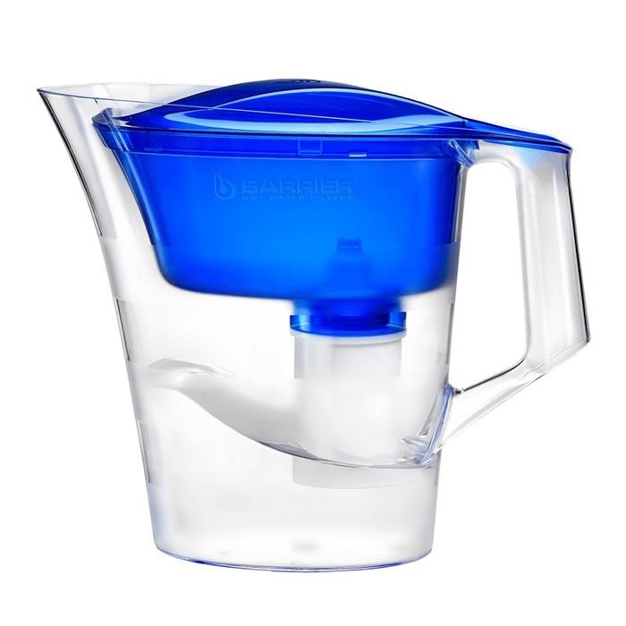 "Фильтр-кувшин 4 л ""Барьер-Твист"", цвет синий"