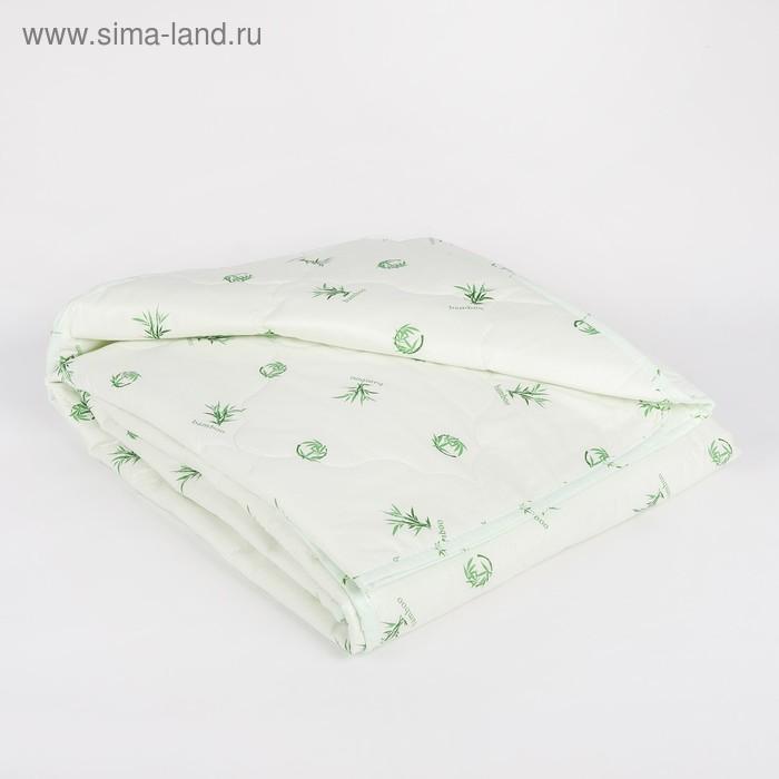 "Одеяло облегчённое Адамас ""Бамбук"", размер 172х205 ± 5 см, 200гр/м2, чехол тик"