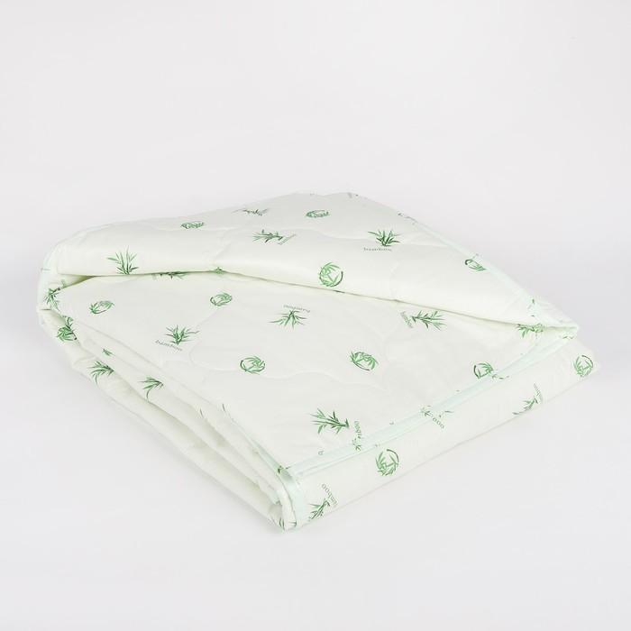 "Одеяло облегчённое Адамас ""Бамбук"", размер 140х205 ± 5 см, 200гр/м2, чехол тик"