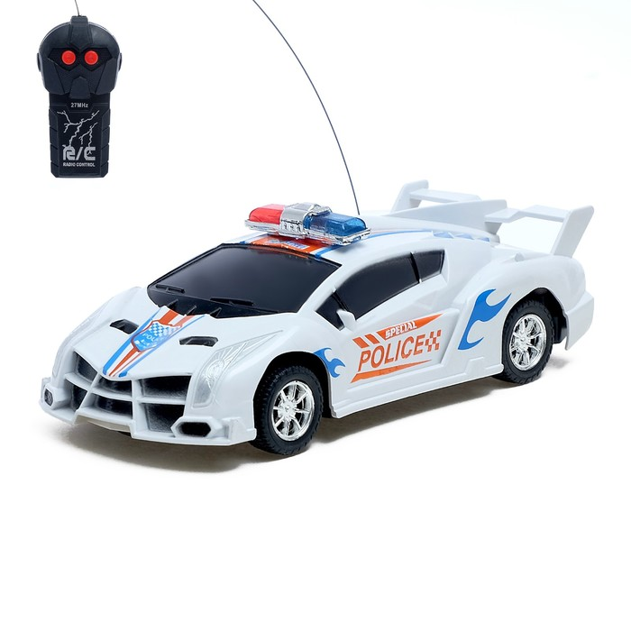 Машина радиоуправляемая «Полиция», работает от батареек - фото 685670777