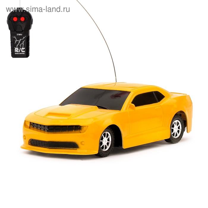 """Машина радиоуправляемая """"Спорткар"""", работает от батареек цвета МИКС"""
