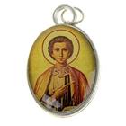 """Нательная икона """"Святой великомученик и целитель Пантелеимон"""""""