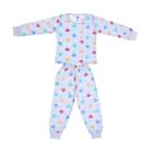 Пижама для девочки, рост 110 см (60), цвет белый 5321М