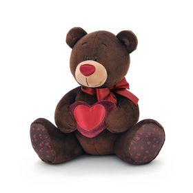 Мягкая игрушка Choco, с сердцем