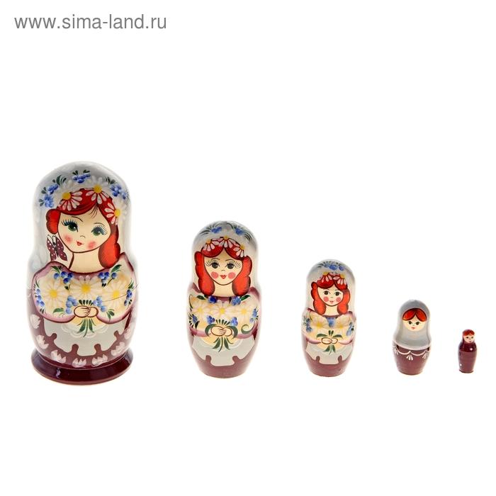 Матрешка  Ромашки 5 кукольная художественная