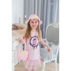Детский набор панама+сумка размер 50-52 16*20 см, цвет малиновый