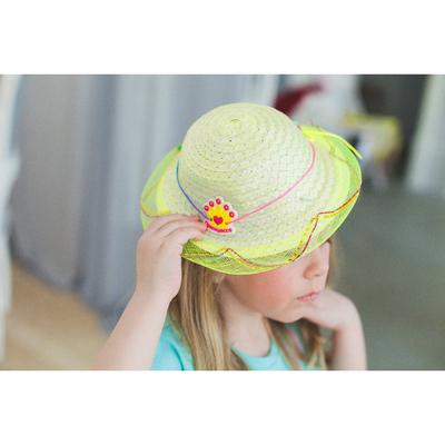 """Шляпка детская """"Принцесса"""" р-р 44 см"""