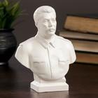 Бюст Сталин большой белый 7х12х16 см