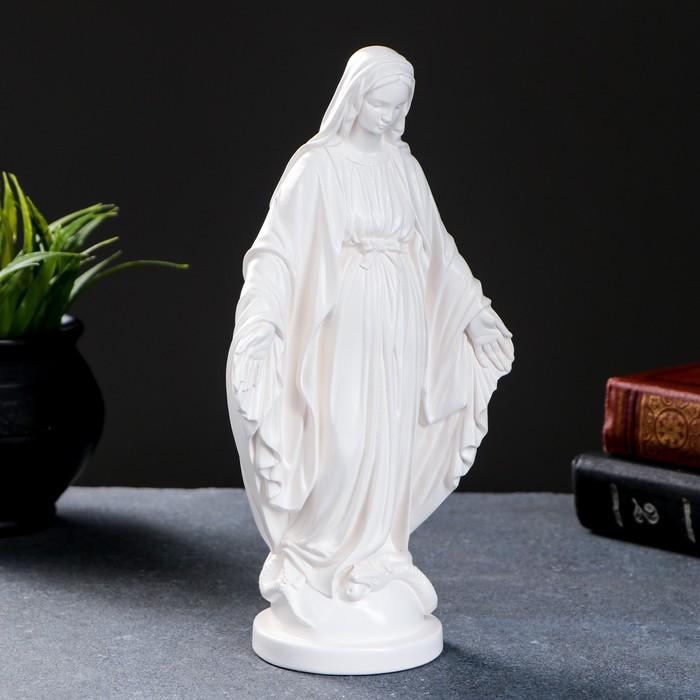 """Фигура """"Дева Мария"""" белая 23см"""