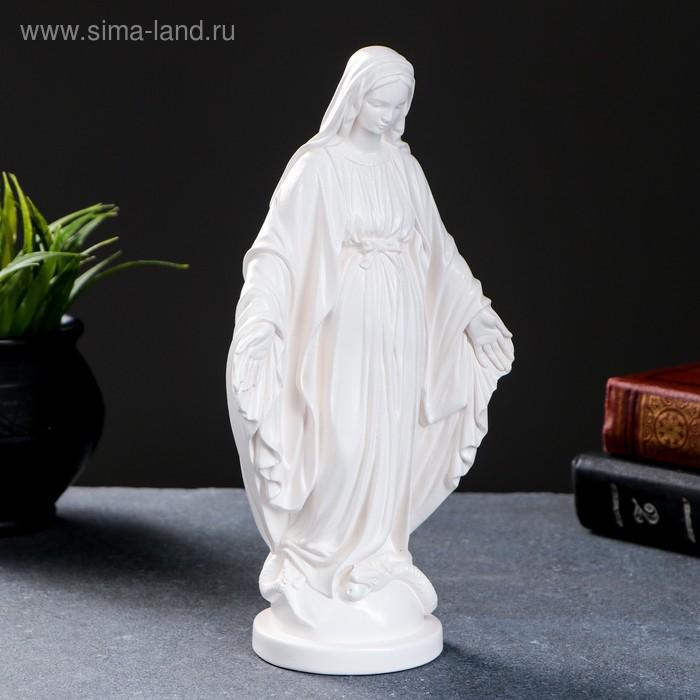 """Статуэтка """"Дева Мария"""" белая"""