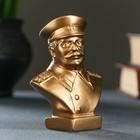 Бюст Сталин малый бронза 10 см
