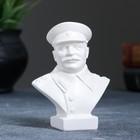 """Статуэтка """"Бюст Сталина"""" малая, белая"""