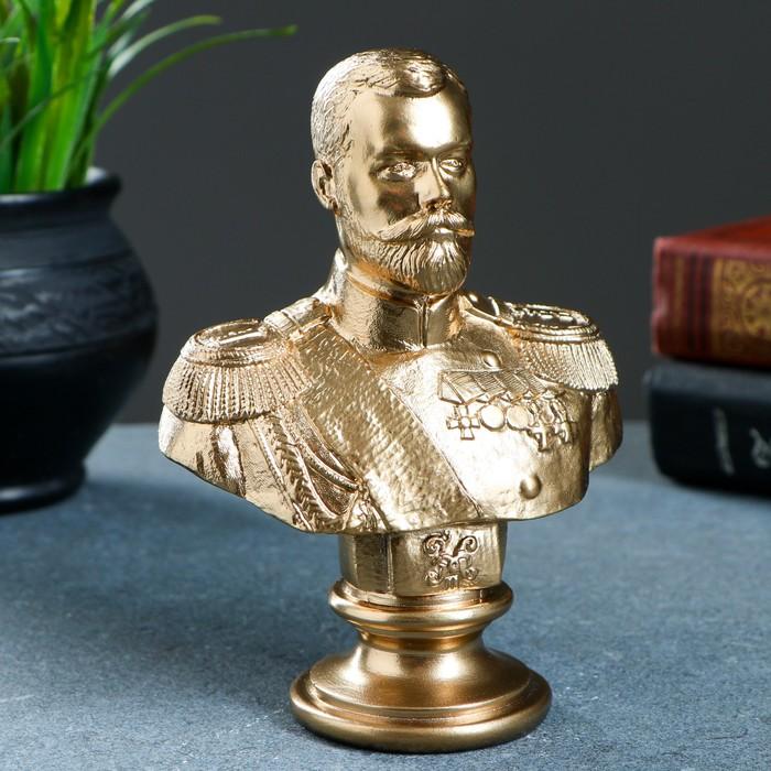 """Статуэтка """"Бюст Николая II"""" микс"""